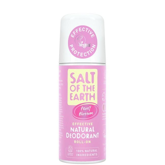 Prírodný kryštálový deodorant - kvet pivónie - roll on 75ml