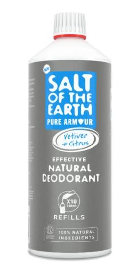 Prírodný kryštálový deodorant PURE ARMOUR - EXPLORER - náplň 1000ml