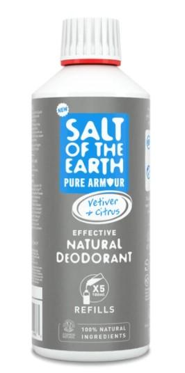 Prírodný kryštálový deodorant PURE ARMOUR - EXPLORER - náplň 500ml