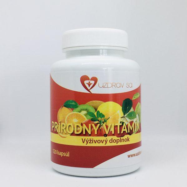 Prírodný vitamín C - 120 kapsúl