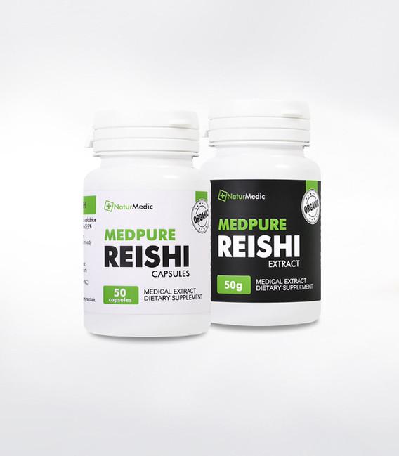 Reishi (Ganoderma Lucidum) NaturMedic