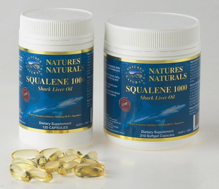 Olej zo žraločej pečene - SQUALENE 1000 - 120 kapsúl