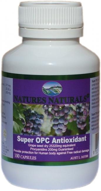 SUPER OPC antioxidant - resveratrol 25320 mg - 100 kapsul