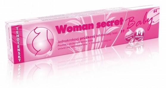 Tehotenský test - Woman secret - prúžkový