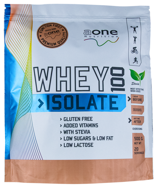 Whey 100 isolate - protein