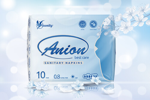 WinION - aniónové hygienické vložky, denné