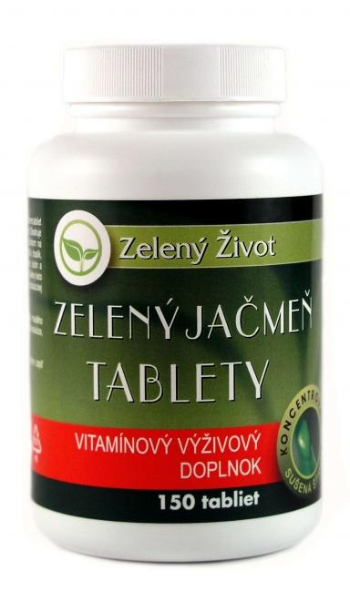 Zelený jačmeň tablety 150 tbl