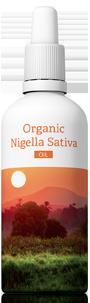 Organic Nigella Sativa (rasca čierna), 100ml