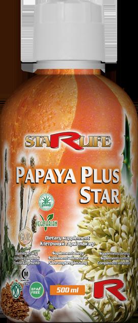 Papaya Plus Star