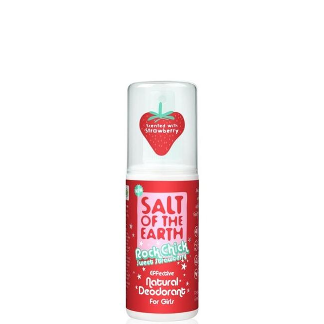 Prírodný kryštálový deodorant PURE AURA - jahoda - sprej 100ml