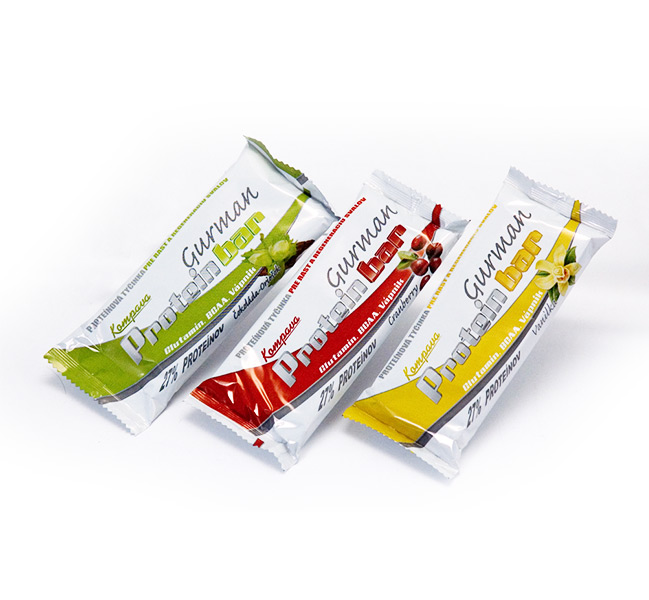 Proteínová tyčinka GURMAN, 21 kusov