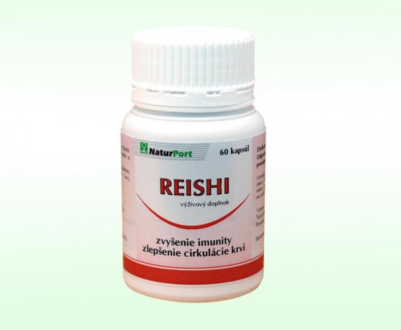 Reishi (Ganoderma Lucidum) - kapsule - 60ks
