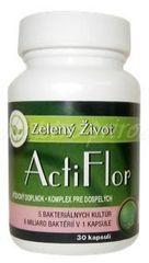 ActiFlor– probiotiká s prebiotikami 30 kapsúl
