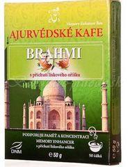 Ajurvédska káva BRAHMI - Pamäť a mozgová činnosť - lieskový oriešok