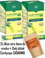 AKCIA - 2x Aloe do vrecka + Cordyceps Zlatý dúšok ZADARMO