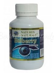 Bilberry - čučoriedka 5000mg, 100kps
