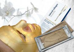 Kolagénová maska s nanozlatom