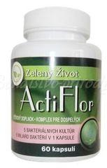 ActiFlor– probiotiká s prebiotikom 60 kapsúl