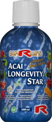 ACAI longevity star - dlhovekosť