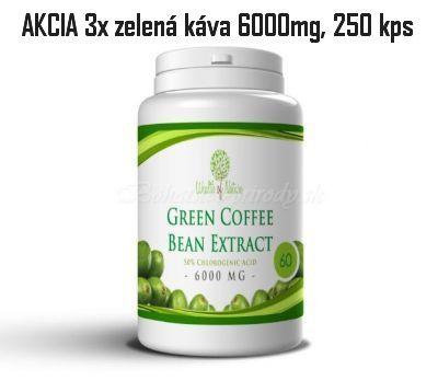 Zelená káva 250 kapsúl - 3ks