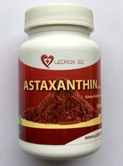 Astaxanthin - antioxidant