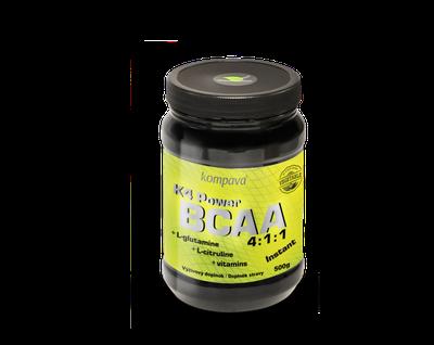 BCAA Instantné aminokyseliny KOMPAVA