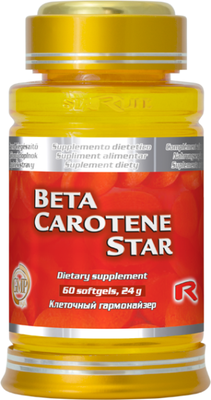 Beta Carotene Star - provitamín A