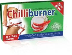 CHILLIBURNER - spaľovanie tukov 45+15 tabliet