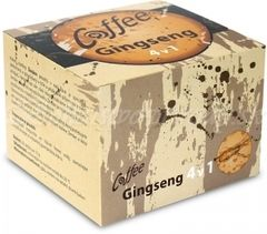 Coffee Gingseng 4 v 1, 20 sáčkov