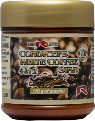 CORDYCEPS WHITE COFEE STAR 110g