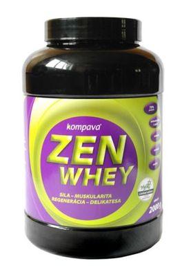 Delikátny protein Zen Whey 70% 2000g, stevia
