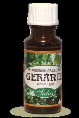 Éterický olej z geránia