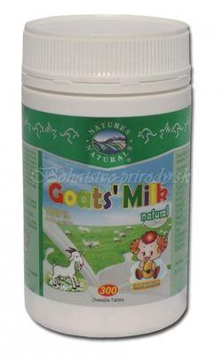 GOAT´S MILK - Kozie mlieko v tabletách - 300 tbl