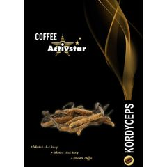Káva s hubou Cordyceps