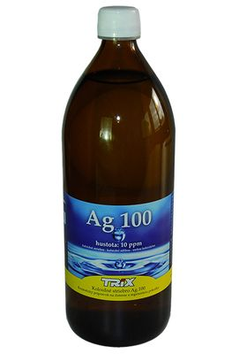 Koloidné striebro Ag 100 10ppm 1000ml