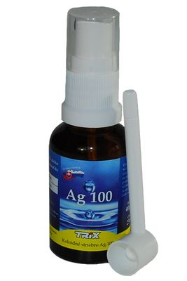 Koloidné striebro Ag 100 40ppm 25ml