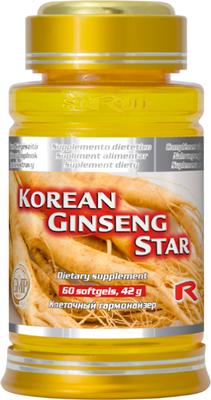 Korean Ginseng Star