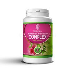 Malinový ketón a Zelená káva KOMPLEX, 60 kapsúl