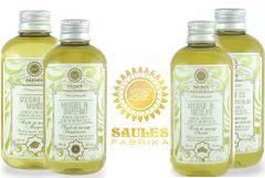 Masážny olej Saules, 200ml