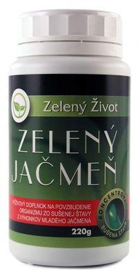 Mladý jačmeň (Zelený jačmeň) 200g