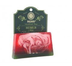Mydlo Saules - tuhé - červený melón, 80g