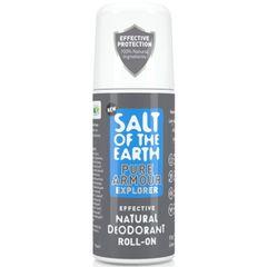 Prírodný kryštálový deodorant PURE ARMOUR - EXPLORER - ROLL ON 75ml