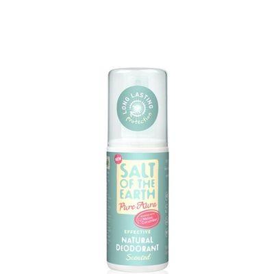 Prírodný kryštálový deodorant PURE AURA - melón, uhorka-sprej 100ml
