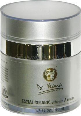 Regeneračný pleťový krém SOLARIS s vitamínom A Dr Nona