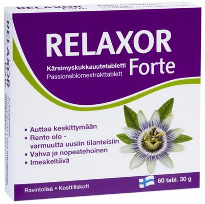 Relaxor Forte, 60 tabliet