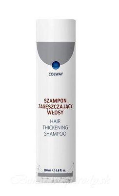 Šampón zlepšujúci hustotu vlasov