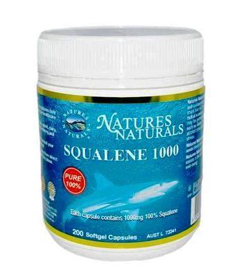SQUALENE 1000 - olej zo žraločej pečene - 200 kapsúl
