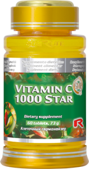 Vitamín C 1000 Star