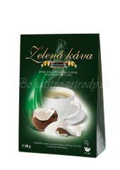 Zelená káva s kokosom