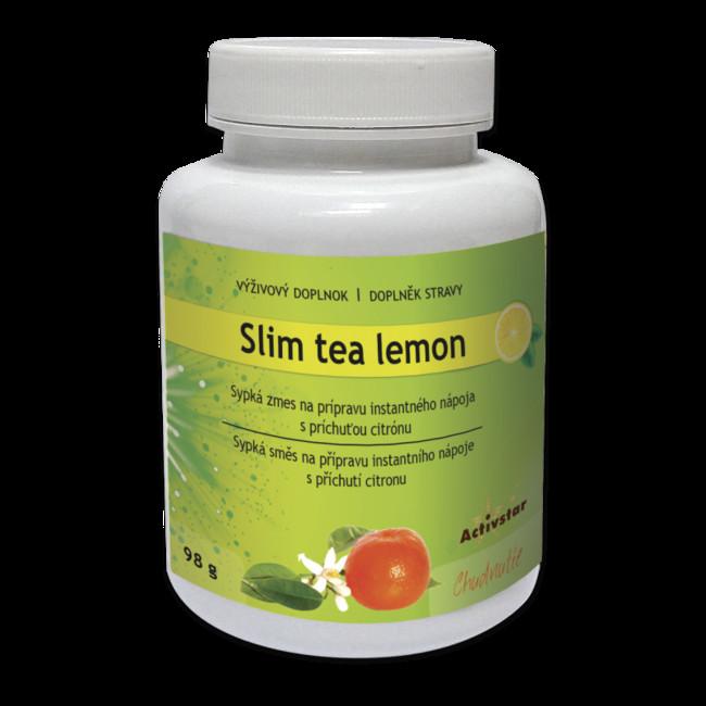 Slim tea lemon